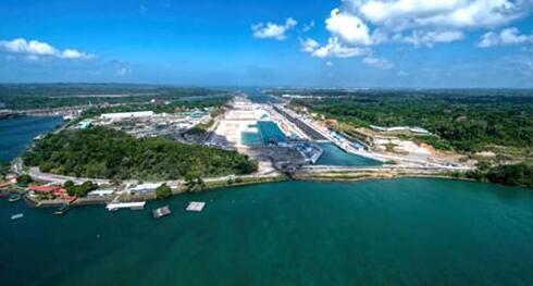 巴拿马运河扩建工程竣工将于六月投入使用