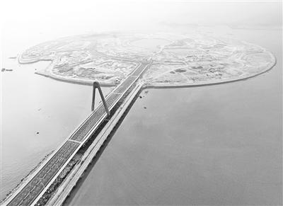 双鱼岛大桥全景——中国水运网