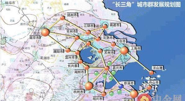 东京大都市圈空间结构示意图