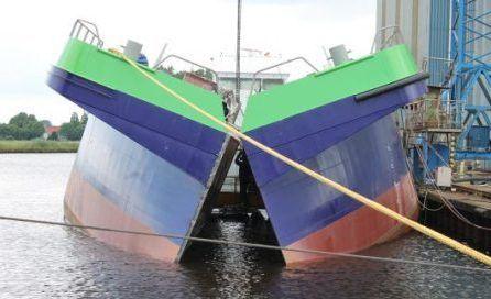 SCHN一艘LNG动力泥驳船即将海试