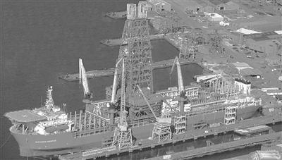 其中,青岛北海船舶重工并入武昌船舶重工以后,这家拥有2个30万吨级
