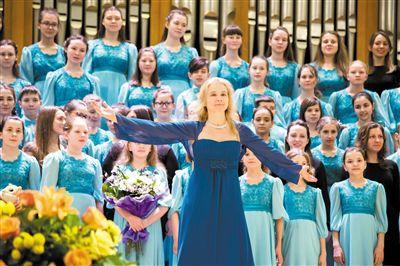 俄罗斯春天儿童合唱团将带来天籁之音