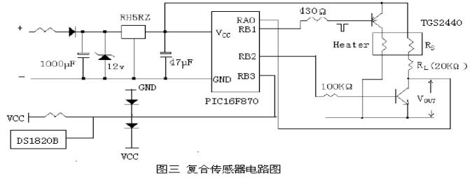 具体电路图如图三所示.