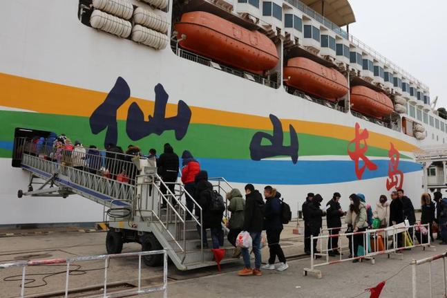 烟台海域春节黄金周往来旅客近10万人次