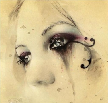 一个眼泪漫画要流一生女人少女了结婚图片